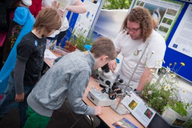 There was engaging science from a host of exhibitors