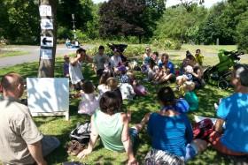 Storytelling at Victoria Park